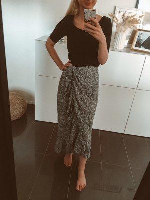 Anine Bing Jupe longue blanc-noir