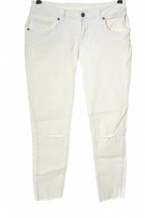 Anine Bing Tube Jeans white casual look