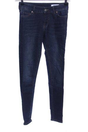 Anine Bing Jeans a sigaretta blu stile casual