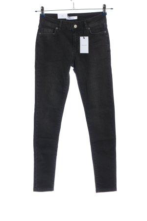 Anine Bing Jeans a sigaretta nero stile casual