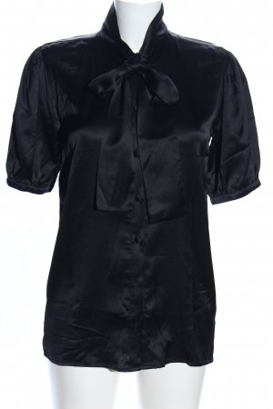 Anine Bing Tie-neck Blouse black business style