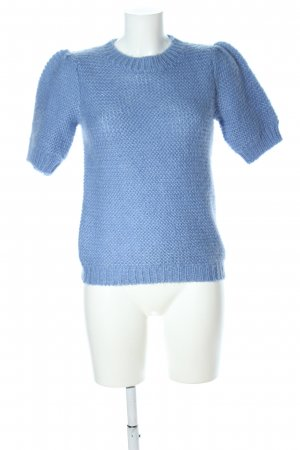 Anine Bing Knitted Jumper blue casual look