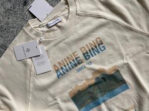 Anine Bing Felpa bianco sporco