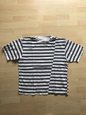 Anine Bing T-shirt bianco-blu Cotone
