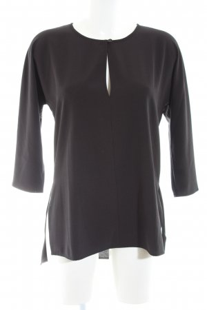ANIS collection Langarm-Bluse schwarz Casual-Look