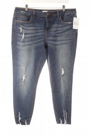 Aniston Jeansy 7/8 niebieski W stylu casual