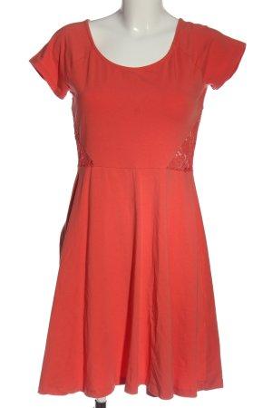 Aniston Abito linea A rosso elegante