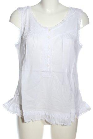 Aniston Blusa senza maniche bianco elegante