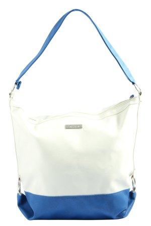 Aniston Sac seau blanc-bleu style décontracté