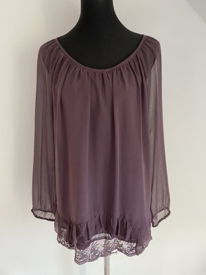 Aniston Long Sleeve Blouse dark violet