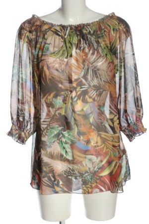 Aniston Casual Bluzka typu carmen Na całej powierzchni W stylu casual