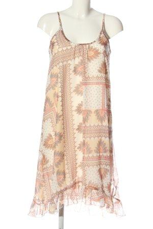 Aniston Casual Sukienka na ramiączkach w kolorze białej wełny-czerwony