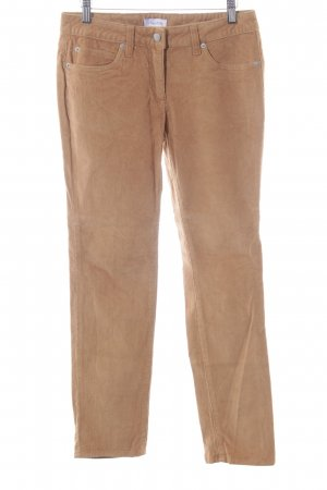 Aniston Corduroy Trousers light orange casual look