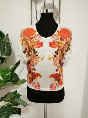 Aniston Crop-top multicolore