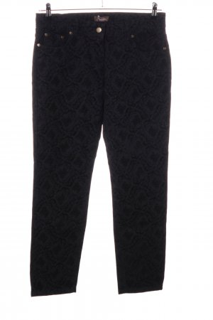 Aniston Five-Pocket Trousers black allover print casual look