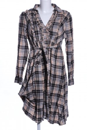 Aniston Shirtwaist dress check pattern casual look