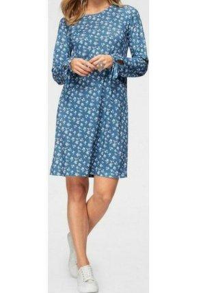 Aniston Summer Dress neon blue polyester