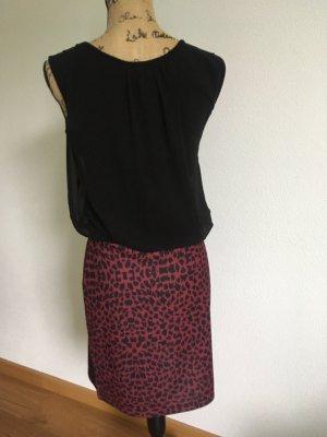 Aniston Sukienka mini czarny-różowy
