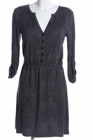 Aniston Longsleeve Dress light grey-black animal pattern casual look