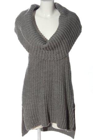 Aniston Cardigan lungo grigio chiaro stile casual