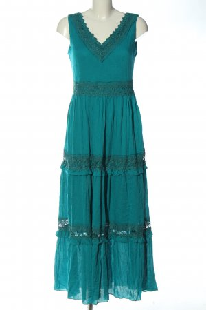 Aniston Maxi Dress turquoise casual look