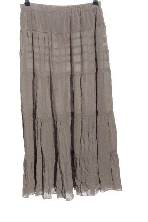 Aniston Jupe mi-longue gris clair style décontracté