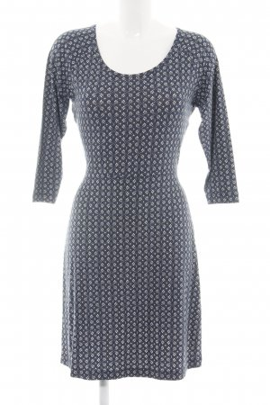 Aniston Mini Dress blue abstract pattern casual look