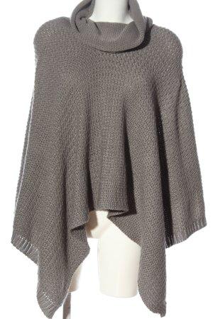 Aniston Poncho gris clair style décontracté
