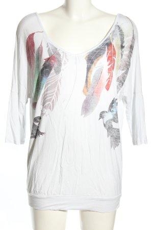Aniston Print-Shirt Motivdruck Casual-Look