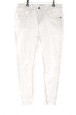 Aniston Tube Jeans white casual look
