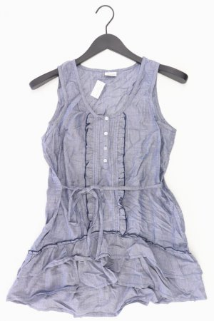 Aniston Ruffled Blouse blue-neon blue-dark blue-azure cotton
