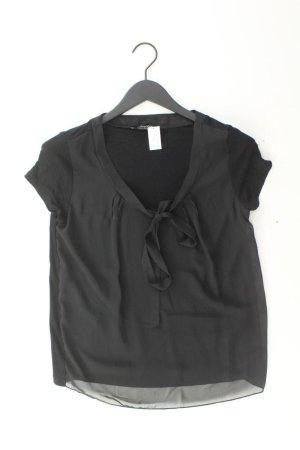 Aniston Blusa collo a cravatta nero Viscosa