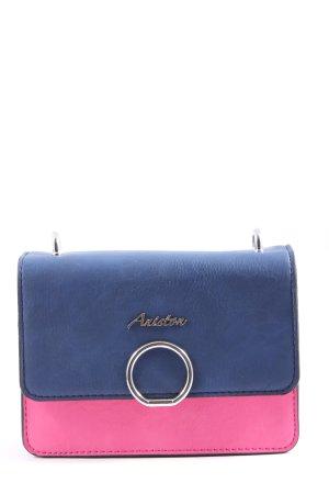 Aniston Torba na ramię niebieski-różowy W stylu casual