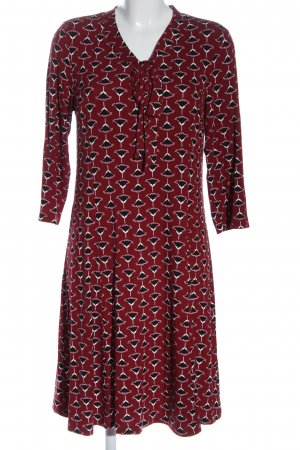 Aniston Selected Longsleeve Dress allover print casual look