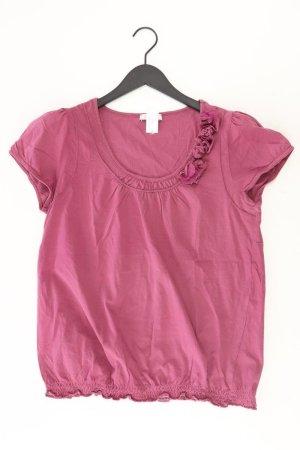 Aniston Shirt Größe 44 lila aus Baumwolle