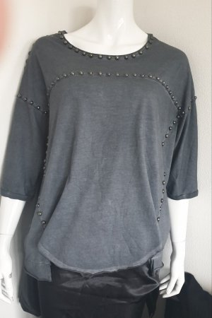 Aniston Shirt Tunic silver-colored-anthracite