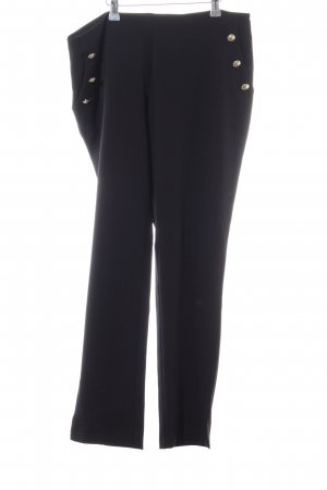 Aniston Jersey Pants black business style