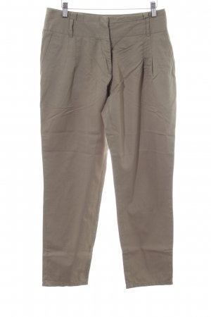 Aniston Jersey Pants brown-cream casual look