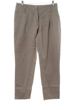 Aniston Spodnie materiałowe brązowy-kremowy W stylu casual