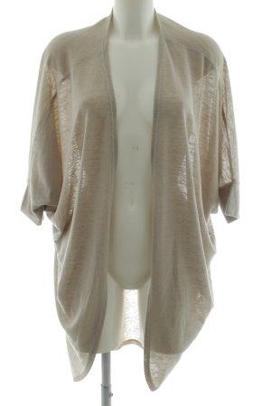 Aniston Cardigan tricotés blanc cassé moucheté style décontracté
