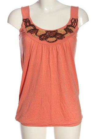 Aniston Canotta arancione chiaro stile casual