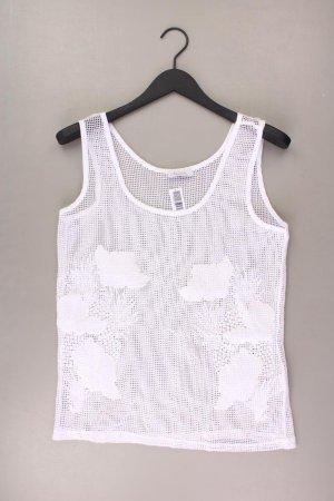 Aniston Top Größe 40 weiß aus Baumwolle