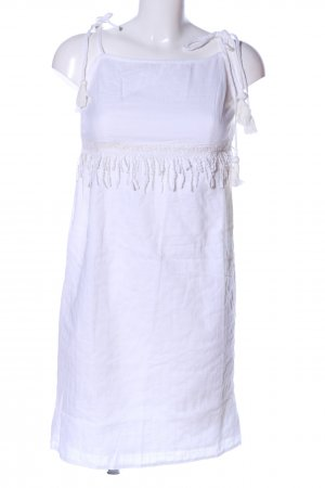Aniston Trägerkleid weiß Casual-Look