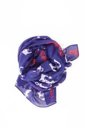 Aniston Zomersjaal blauw-neon blauw-donkerblauw-azuur Polyester