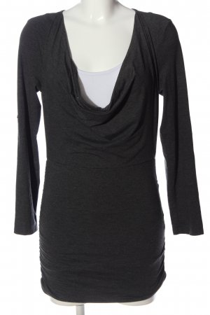 Aniston Koszulka z dekoltem woda jasnoszary Melanżowy W stylu casual