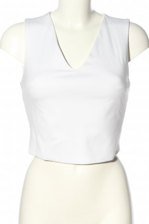 Anita Top o skróconym kroju biały W stylu casual