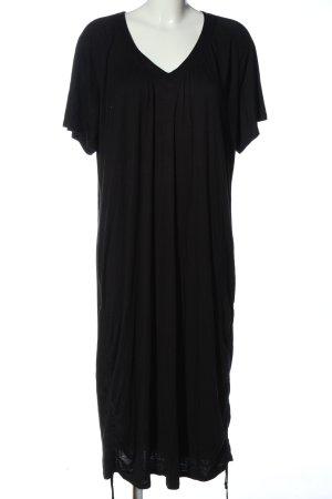 Anita Jurk met korte mouwen zwart casual uitstraling