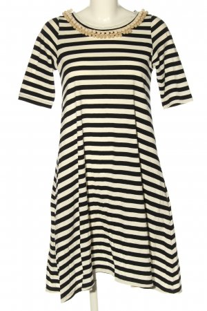 Aniye By Shirt Dress cream-black striped pattern casual look