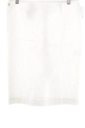 Anja Gockel Falda de tubo blanco puro elegante