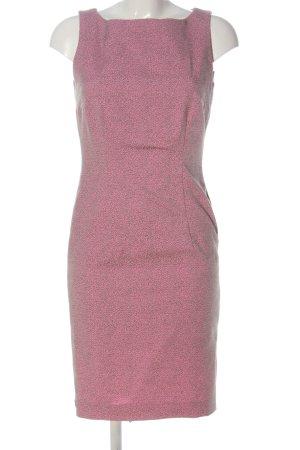 Anja Gockel Etuikleid pink-hellgrau Leomuster Casual-Look